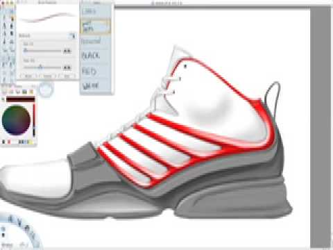 6cc70b8bf32 Rendering a Basketball Shoe (teaser) - YouTube