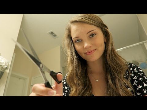 ASMR Haircut Roleplay ♥