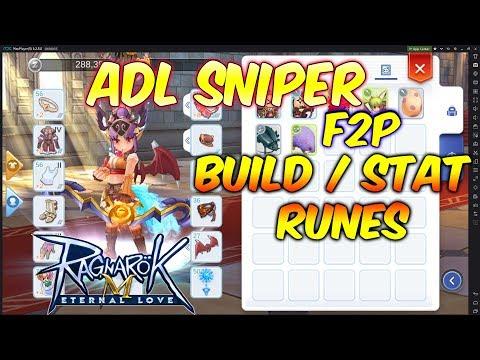 ADL Sniper Build F2P | Ragnarok Mobile Eternal Love