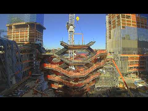 Time Lapse of the Construction of Heatherwick Studio's 'Vess