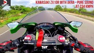 Kawasaki ZX10R with Akrapovic Pure Sound  #DinosVlogs