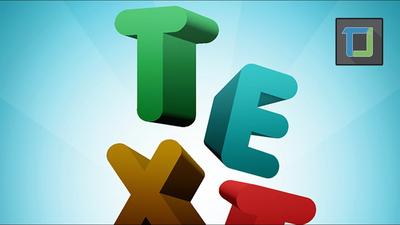 Colorful 3d text effect in photoshop cs6 tutorials 3d effects colorful 3d text effect in photoshop cs6 tutorials 3d effects youtube baditri Images