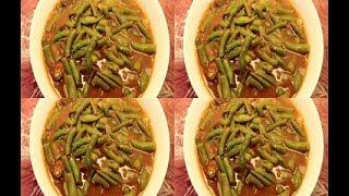 طريقة عمل الفاصوليا الخضراء الصيامى  - food  cooking - recipes - cooking school - Mai Ismael Channel