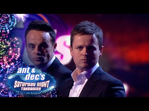 Ant V Dec: The 100th Episode Saturday Night Takeaway Trivia Quiz