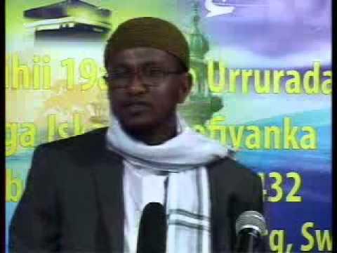 Yuu ka daalin Carabkaagu digriga Allah By Sh. Cabdiraxman Abyad.