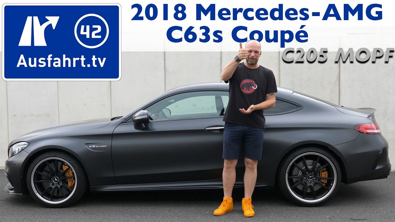 2018 Mercedes Amg C 63 S Coupe C205 Mopf Kaufberatung Test Review