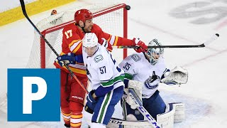 Tyler Myers on Canucks 4-1 loss to the Calgary Flames | The Province