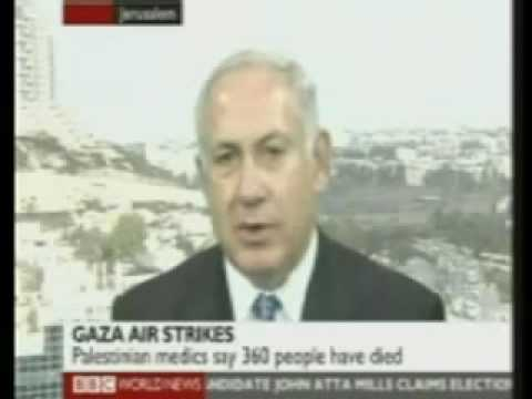 Benjamin Netanyahu interview - Hamas