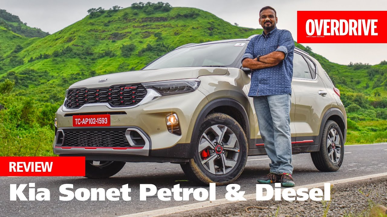 Kia Sonet Review The New Benchmark In The Sub 4m Crossover Space Overdrive Youtube