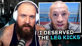 Reacting To Conor McGregor's Breakdown Of Loss To Poirier