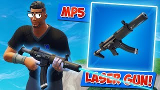 MP5 ЛАЗЕР! ЛУЧШАЯ ПУШКА В ИГРЕ! [FORTNITE Battle Royale]