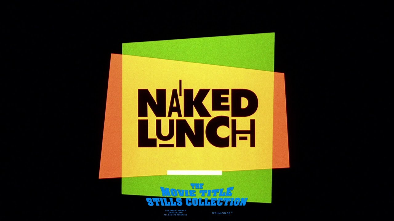 Download Naked Lunch (1991) title sequence