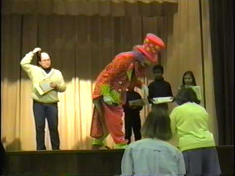 5,000 Books and a Clown For a Day!