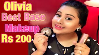 Olivia panstick & pancake base makeup demo | Rs 200 only