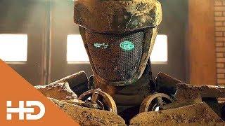 «Его Зовут Атом.Устрой Ему Бой!» ► Живая сталь (2011) Лучшие Моменты