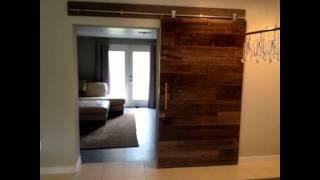 Reclaimed Wood Doors  By Laurenscape.com