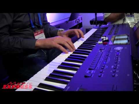 Music Express Roland BK9 Keyboard - Overview