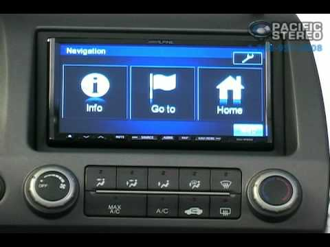 Alpine INA-W900 In-Dash Navigation Receiver | Pacific Stereo
