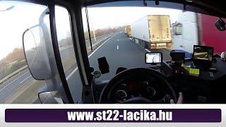 55.A kamionos/trucker.Dugó/stau/long delay in calais-dover-folkestone.2015.