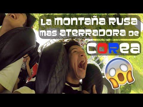 LA MONTAÑA RUSA MAS ATERRADORA DE COREA - EVERLAND