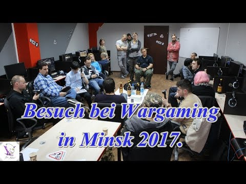 Besuch bei Wargaming in Minsk mit HD Maps & Audio Studio