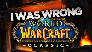 I was WRONG about CLASSIC! Here\'s Why