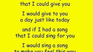 Carly Rae Jepsen - Sunshine on My Shoulders
