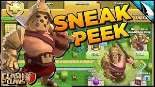 *SNEAK PEEK #2* New Update - Hero Skin / Season Challenges | Clash of Clans