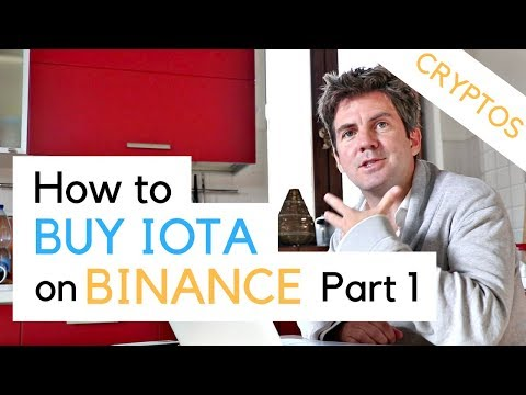 How To Buy IOTA - Part 1 - Transfer Bitcoin From Coinbase To Binance
