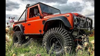 MUD3Y our Custom Built Land Rover Defender 4.6 v8