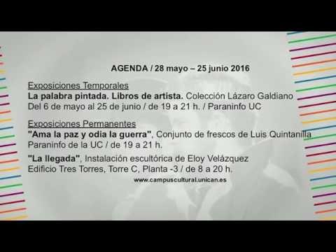 Campus Cultural UC (Del 28 de mayo al 25 de junio)