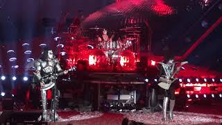 KISS; Crazy Crazy Nights/Rock N' Roll All Night @ Jiffy Lube Live Bristow, VA 8/11/2019