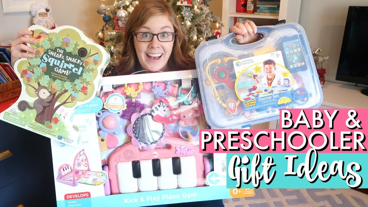 3 Year Old and Baby Christmas Gift Ideas | PRACTICAL AND NON-TOY ...