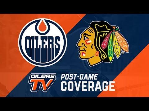ARCHIVE | Post-Game Coverage – Oilers vs. Blackhawks