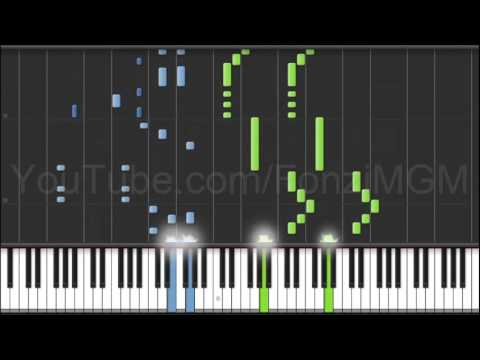 "[K: Return of Kings OP] ""Asymmetry"" - Yui Horie (Synthesia Piano Tutorial) [w/ MIDI + Sheets DL]"