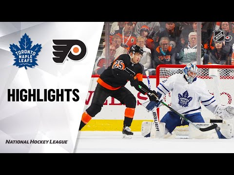NHL Highlights | Maple Leafs @ Flyers 11/02/19