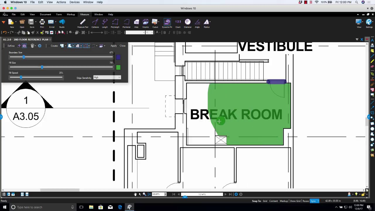 Dynamic Fill and a review of Dynamic Fill Settings in Bluebeam Revu