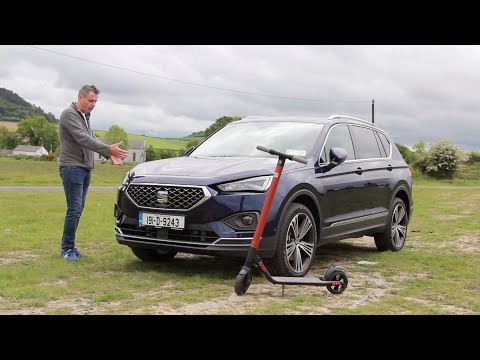 SEAT Tarraco in depth | budget luxury SUV with an Electic scooter