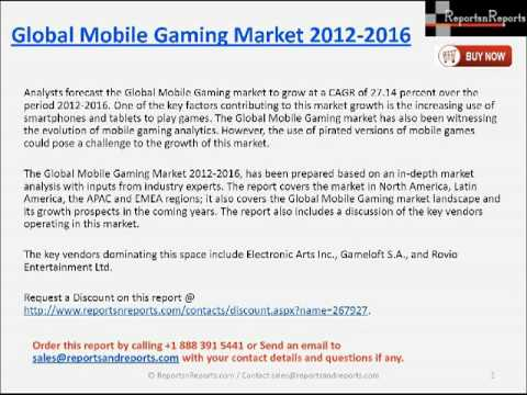 2016 Global Mobile Gaming Market