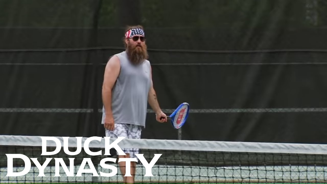 Download Duck Dynasty: Top Moments: Willie Plays Tennis   Duck Dynasty