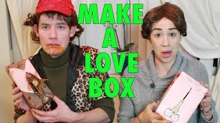 MAKE A LOVE BOX (Sam & Laybia)