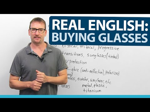 Learn Real English: Buying Glasses