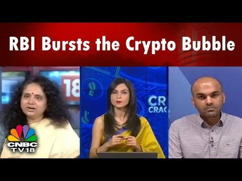 RBI Bursts the Crypto Bubble | RBI to Bring its Own Digital Currency? | CNBC TV18