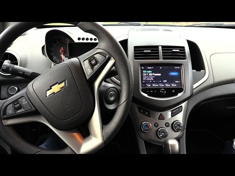 2016 Chevy Sonic Dashboard look.