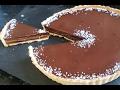 How To Make Homemade  Chocolate Salted Caramel Tart Recipe.