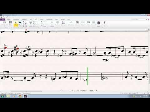 Tank! - Alto Saxophone 1 (4/28/14)