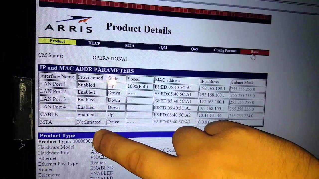 arris advanced login password generator