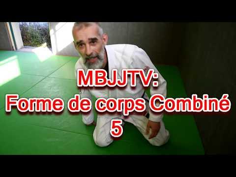 Marvelous BJJ : Forme De Corps Combiné 5