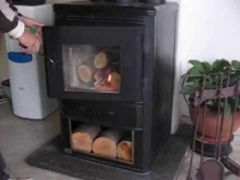 Estufa a le a wood stove sistema de f cil encendido - Estufa de lena ...