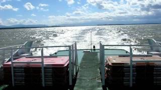 大揺れの飛島航路(その1)